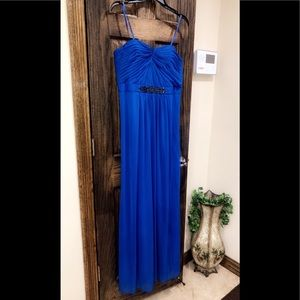 Formal Dress Size 14 Adrianna Papell Royal Blue